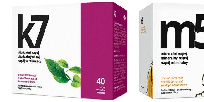 K7 - vitalizačný nápoj alebo Minerálna terapia M5