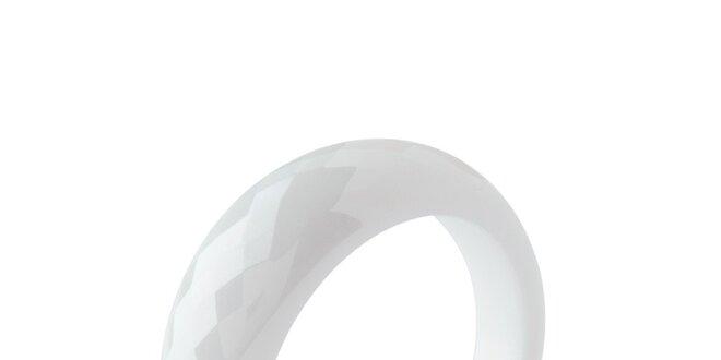 Dámsky keramický prsteň v bielej farbe Fifi Ange