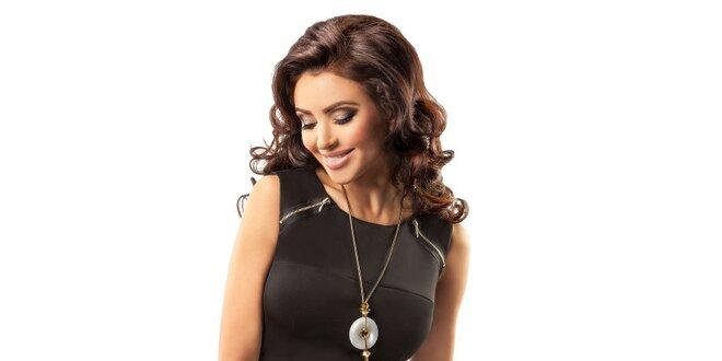 Dámske čierne elegantné šaty Enny  961a54ee1bb