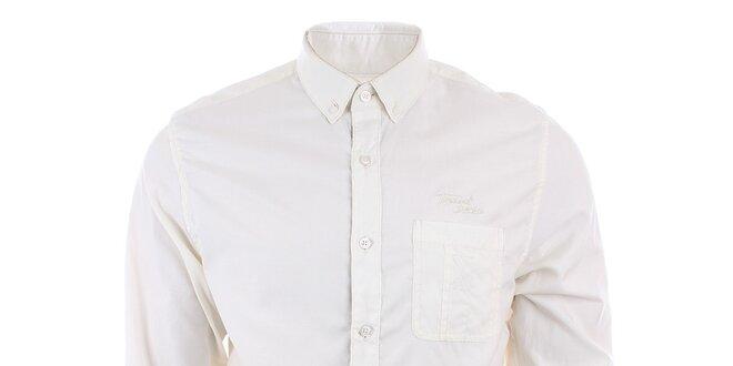 f051edc98f3c Pánska svetlá košeľa s dlhým rukávom Timeout