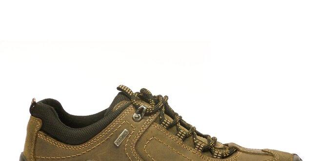 288e60494c Pánske hnedo-béžové športové topánky Numero Uno