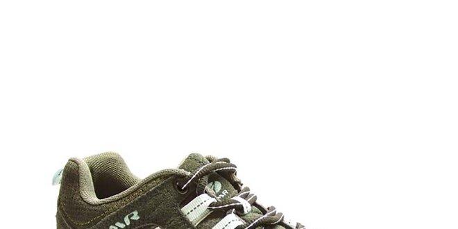 Dámske šedo-biele trekové topánky Numero Uno