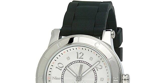 27e7783b7 Dámske hodinky s čiernym silikónovým remienkom Juicy Couture ...