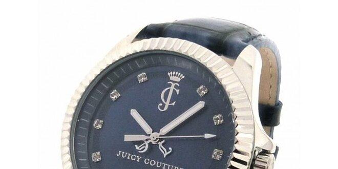 79f2295bd Dámske tmavo modré hodinky s kamienkami Juicy Couture | Zlavomat.sk