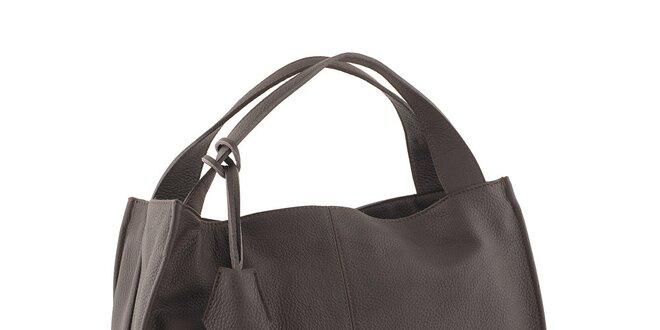 Dámska hnedá kabelka Valentina Italy