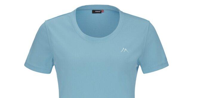 Dámske svetlo modré funkčné tričko s krátkym rukávom Maier
