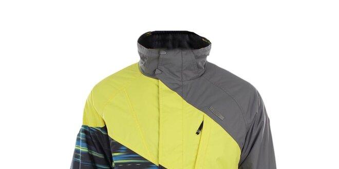Pánska žlto-šedá funkčná bunda Trimm