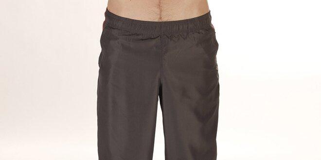 ffdaef6a8efb Pánske športové nohavice v khaki farbe Reebok