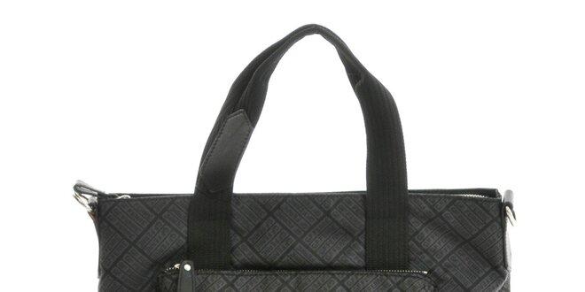 f17a39925b Dámska čierna vzorovaná kabelka Gianfranco Ferré
