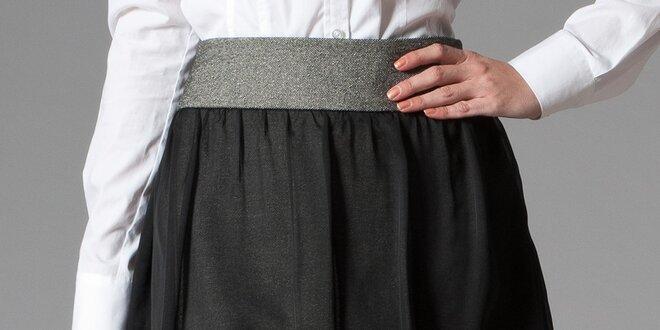 Dámska sukňa so širokým pásom Pietro Filipi