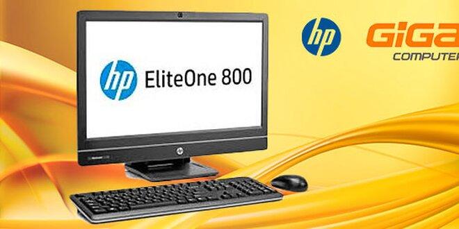 Štýlový počítač HP EliteOne + Win 8 Pro
