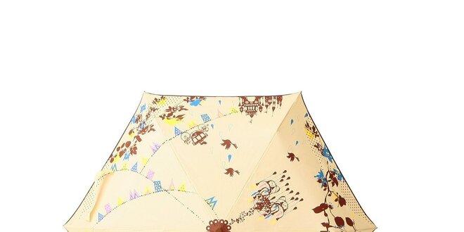 Dáždnik Kayo Horaguchi - žltý (krémový), ružový, modrý alebo fialový