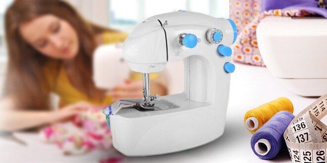 Kompaktný ľahký ručný šijací stroj