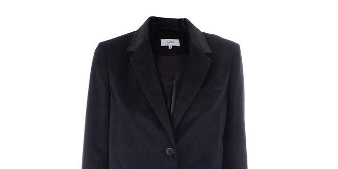 Dámské sako s gombíkmi a tmavo modrou podšívkou inAvati  2b14234f86e