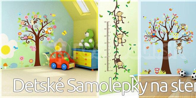 Detské Peel & Stick Samolepky na steny