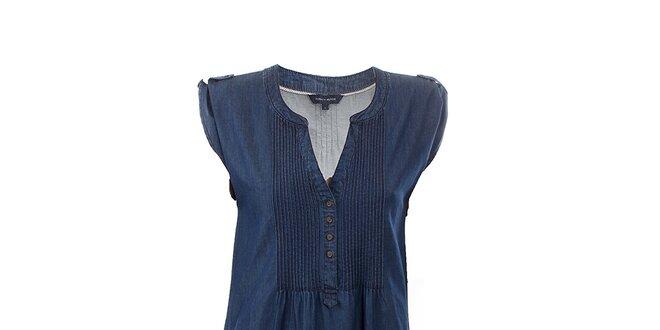 Dámske tmavo modré džínsové šaty Tommy Hilfiger  398b27190c