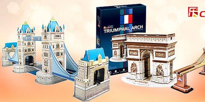 Pre deti a dospelých 3D puzzle! Váš tip na darček.