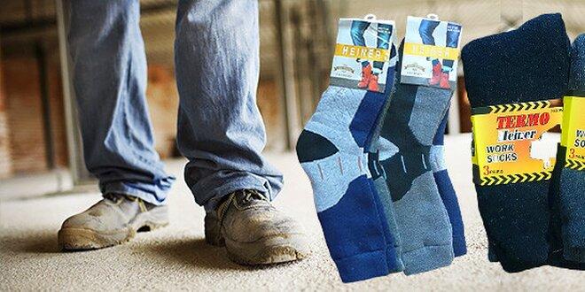 Pracovné alebo klasické termo ponožky
