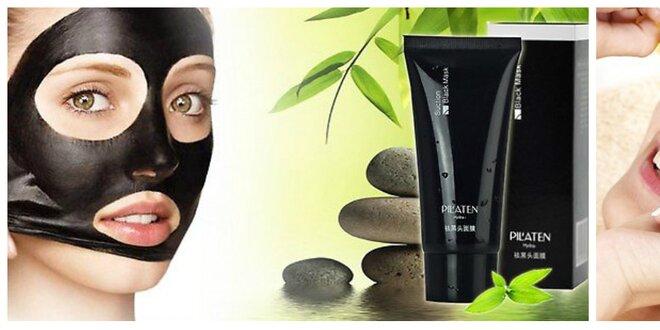 Kórejská čierna maska pilaten alebo zlatá maska s Bio kolagénom na tvár