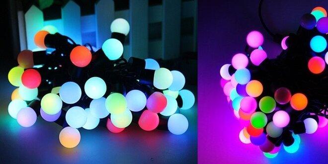RGB LED reťaz Multicolor