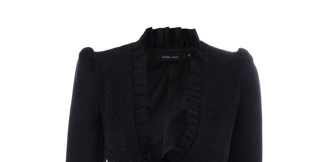 Dámske čierne sako Dislay DY Design