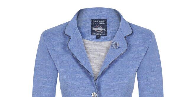 Dámske modré voľnočasové sako Giorgio Di Mare