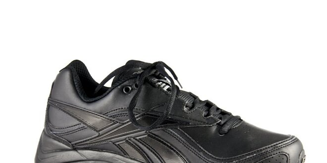 d67a3f5367 Dámske čierne kožené tenisky Reebook