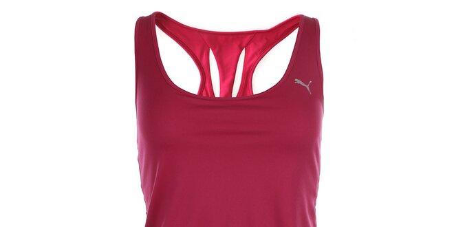 10cdfb4b2fb8 Dámske športové ružové tielko Puma