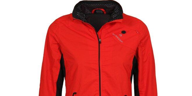 Dámska červená outdoorová bunda Bergson