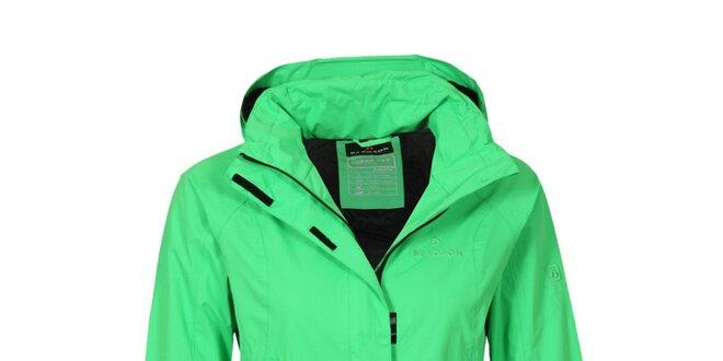 Dámska neonovo zelená bunda Bergson