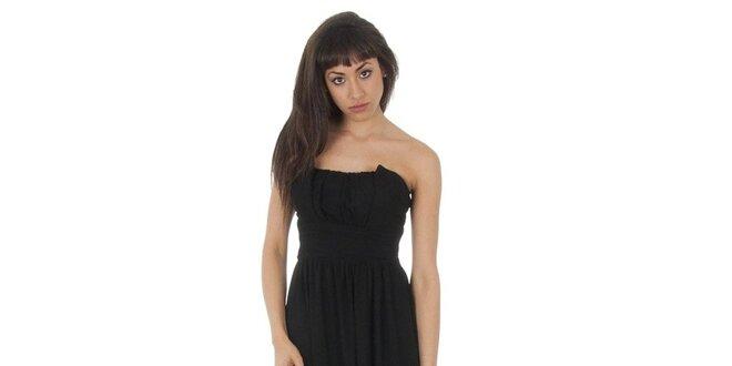 2dd1fd2ed4d6 Dámske dlhé čierne šaty Paola Pitti