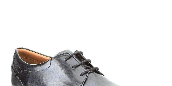 d68ac6408dfb Pánske čierne lakované topánky Clarks