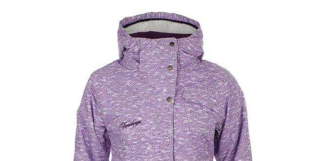 527ea8a6f51f Dámska fialová zimná bunda Fundango