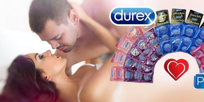 Super balenia DUREX a PASANTE kondómov