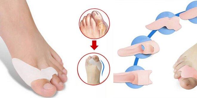Silikónová ortopedická pomôcka - prstový fixátor