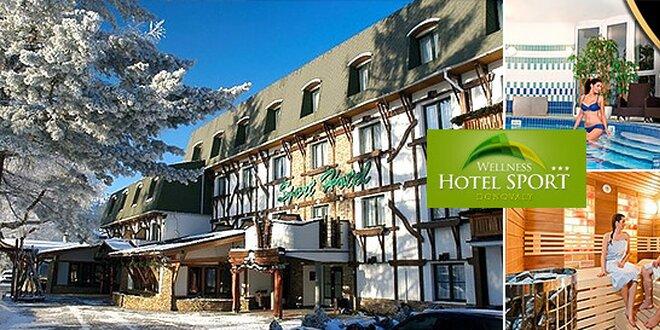 44d508fe7 Najobľúbenejší Wellness Hotel Šport na Donovaloch | Zlavomat.sk
