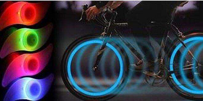 LED osvetlenie na kolesá