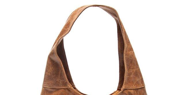 Dámska koňaková kabelka s jedným uchom Mangotti