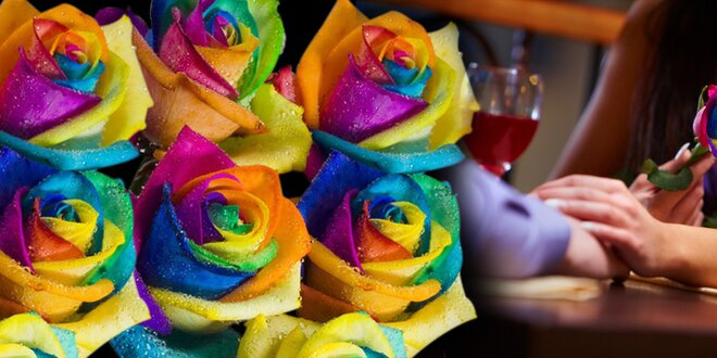 Vypestujte si vzácne dúhové ruže