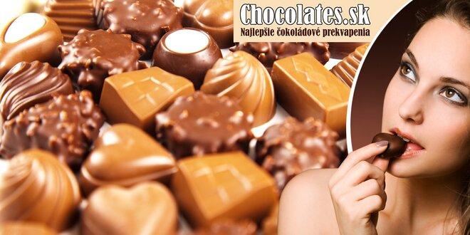 Široká ponuka čokolád pre každý maškrtný jazýček!