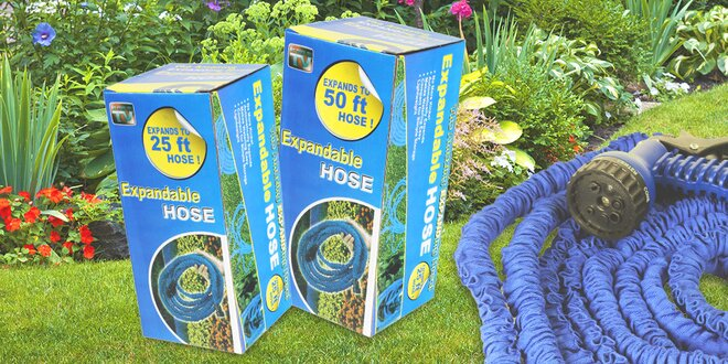 Elastická hadica do vašej záhrady