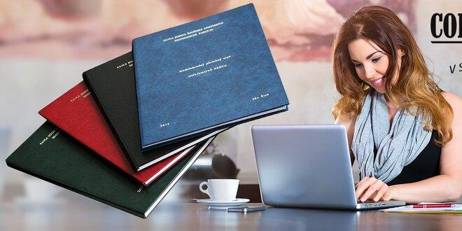 Viazanie bakalárskych a diplomových prác