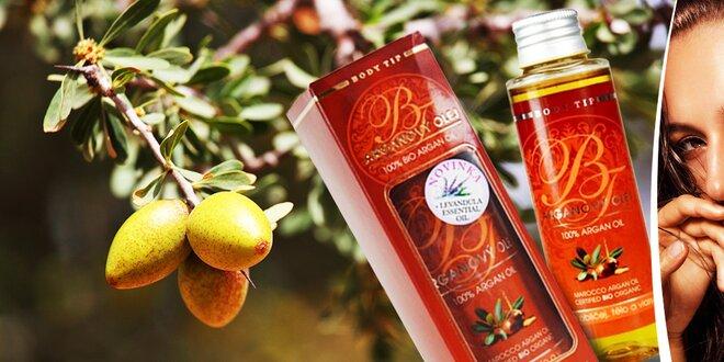 100% BIO arganový olej – elixír krásy z Maroka