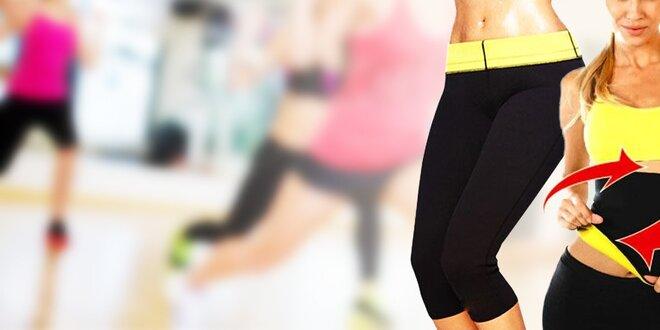 Fitness legíny alebo pás s formujúcim účinkom