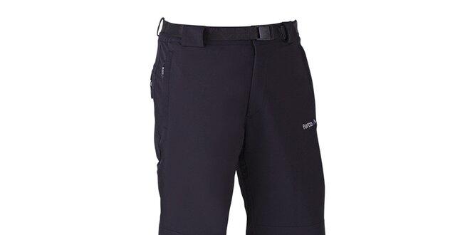 Pánske čierne outdoorové nohavice Furco