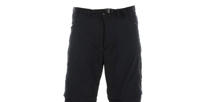 Pánske čierne rýchloschnúce nohavice Hannah
