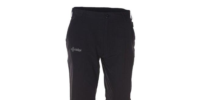 Pánske čierne športové a outdoorové nohavice Kilpi