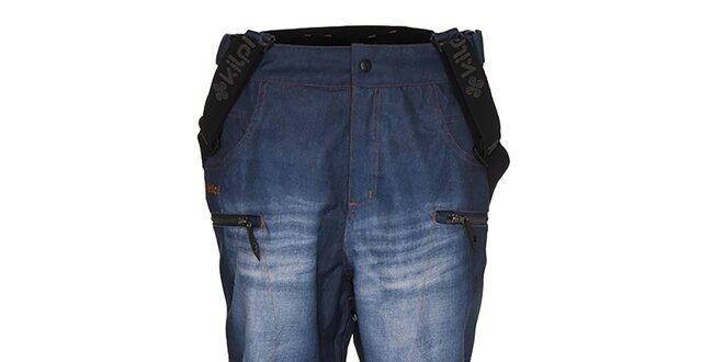 Pánske snowboardové nohavice v džínsovom designe Kilpi
