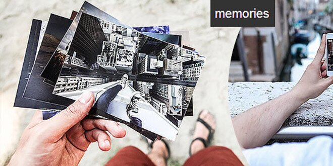 Zmeňte spomienky na tlačené fotografie