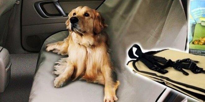 Deka do auta pre Vášho psieho miláčika
